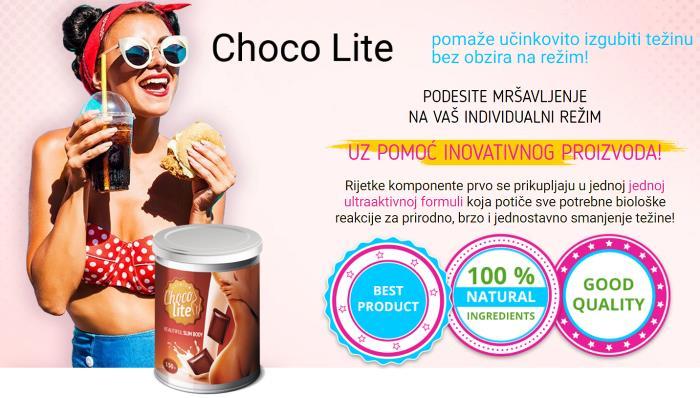 Choco Lite je li piće za mršavljenje, prospekt, gdje kupiti, Hrvatska