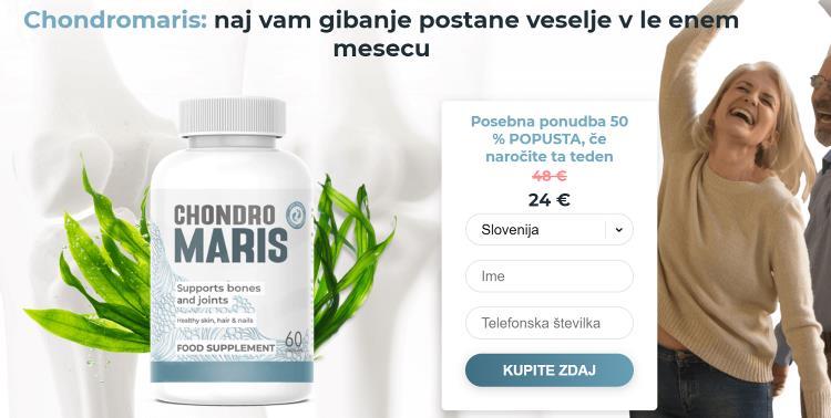 Tablete Chondromaris proti bolečinam v sklepih, kje kupiti, Slovenija