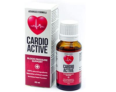 CardioActive tablety - cena, lékárna, názory, diskuze, kde koupit