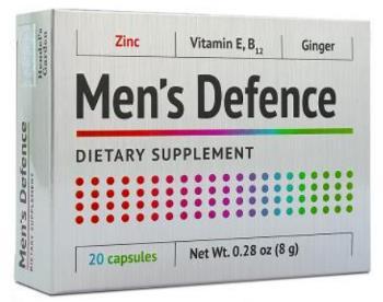 Men`s Defense tablety - cena, názory, diskuze, lékárna, učinki, kde koupit