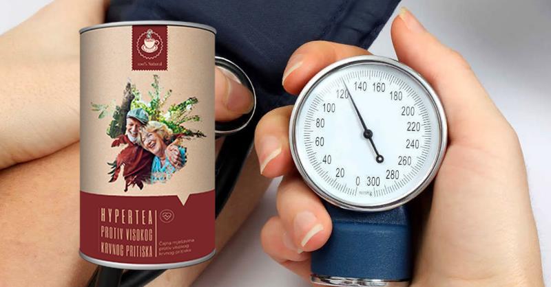 Hypertea čaj za visoki krvni tlak, sastojci, prospekt, Hrvatska