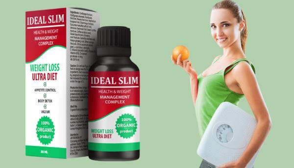 Ideal Slim kapky na hubnutí, složení, Česká Republika